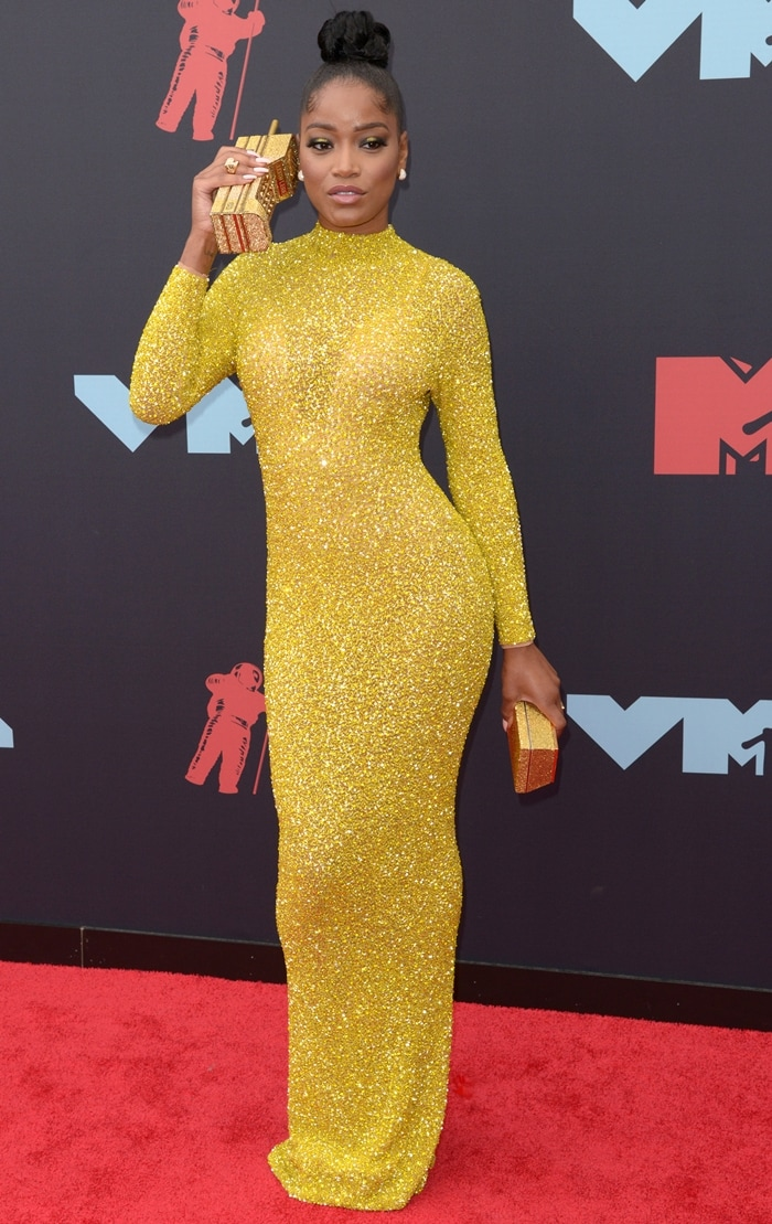 Keke Palmer celebrated her birthday at the 2019 MTV VMAs