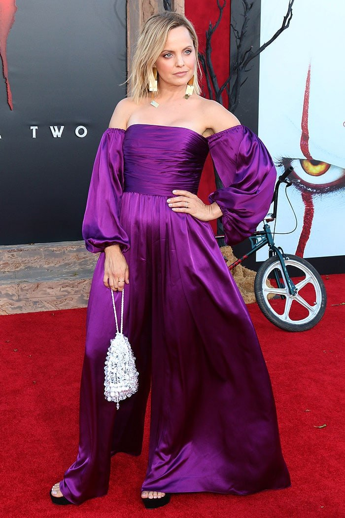 Mena Suvari at the It Chapter Two premiere