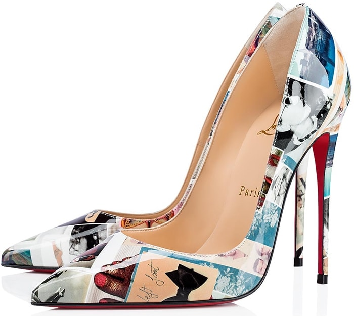 Set near vertical at 120mm, this unique pair give a sophisticated look and shape your gait into a jaw-dropping stride