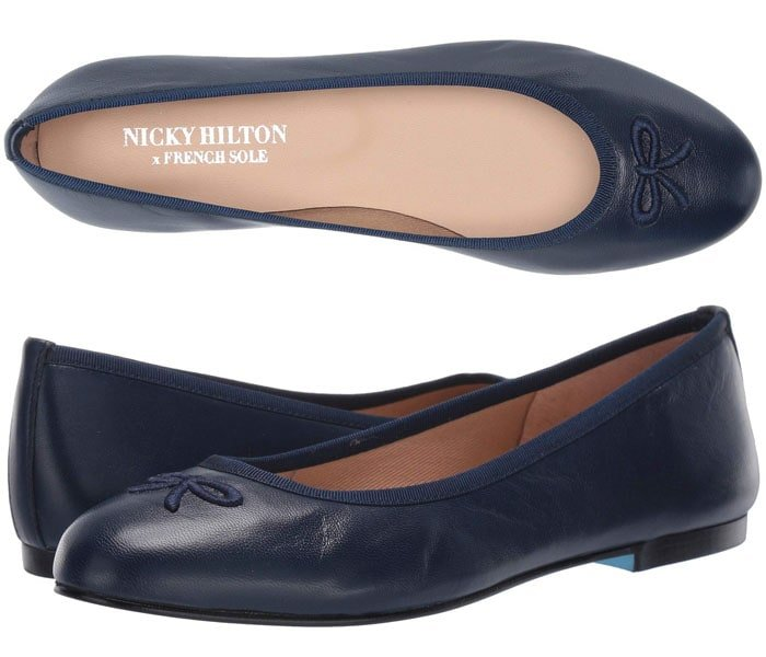 Nicky Hilton x French Sole Kathy Ballet Flats