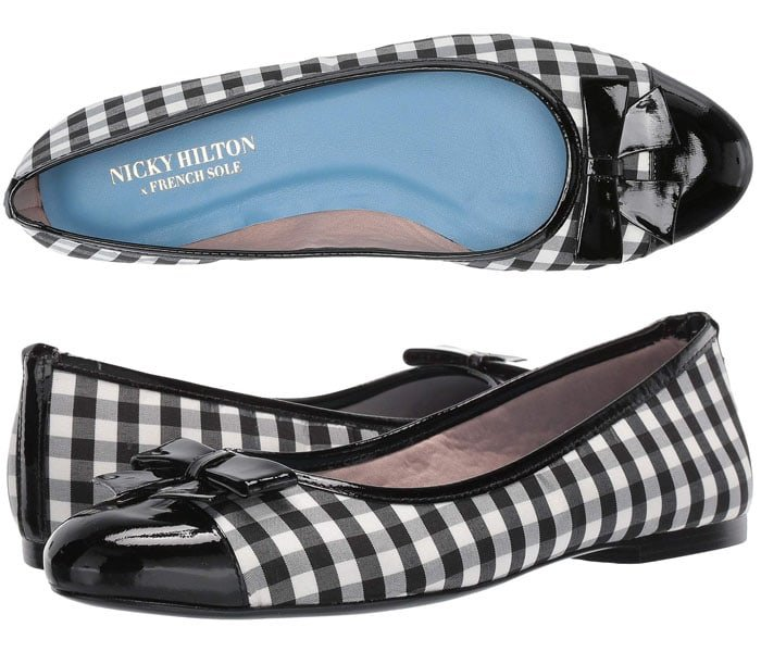 Nicky Hilton x French Sole Whitney Ballet Flats