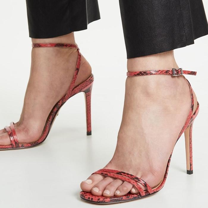 Scarlet Schutz Altina Ankle Strap Sandals