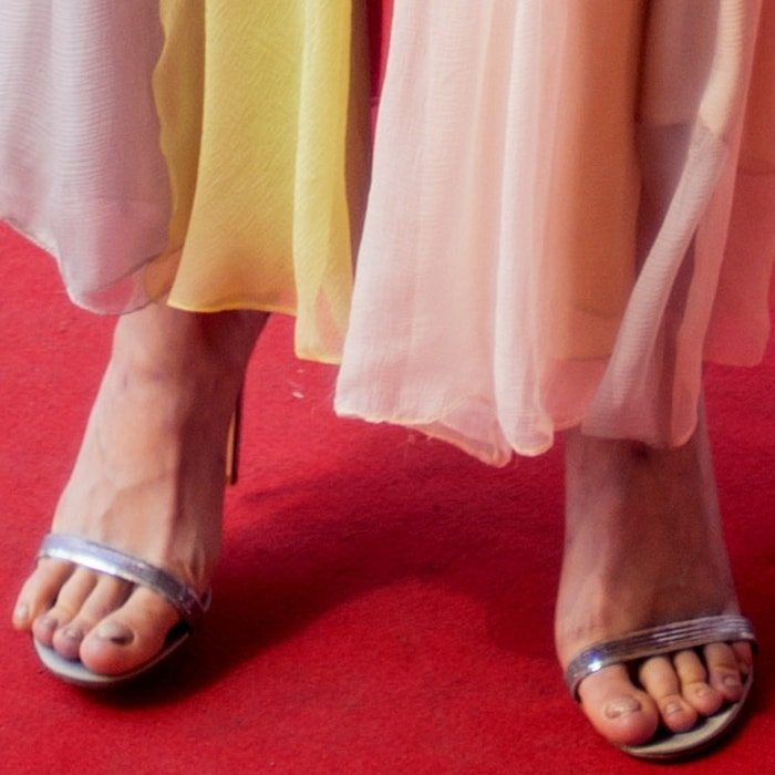 Brie Larson felt no shame showing off her fungal nail infections