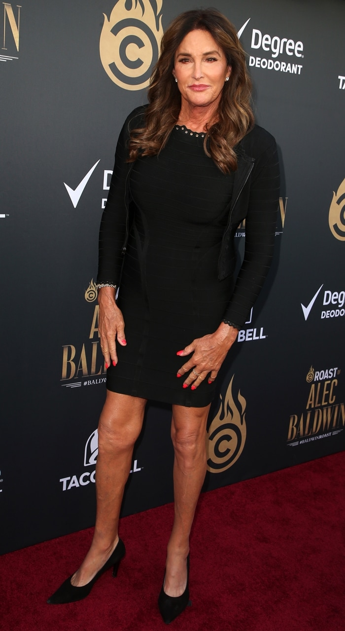 Caitlyn Jenner attends the Comedy Central Roast of Alec Baldwin