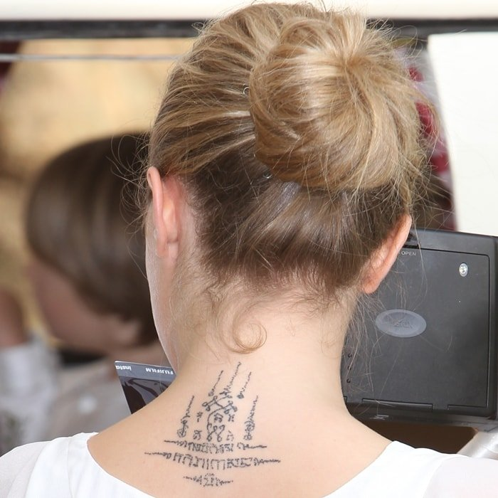 Cara Delevingne's body art inspired by Yantra tattooing