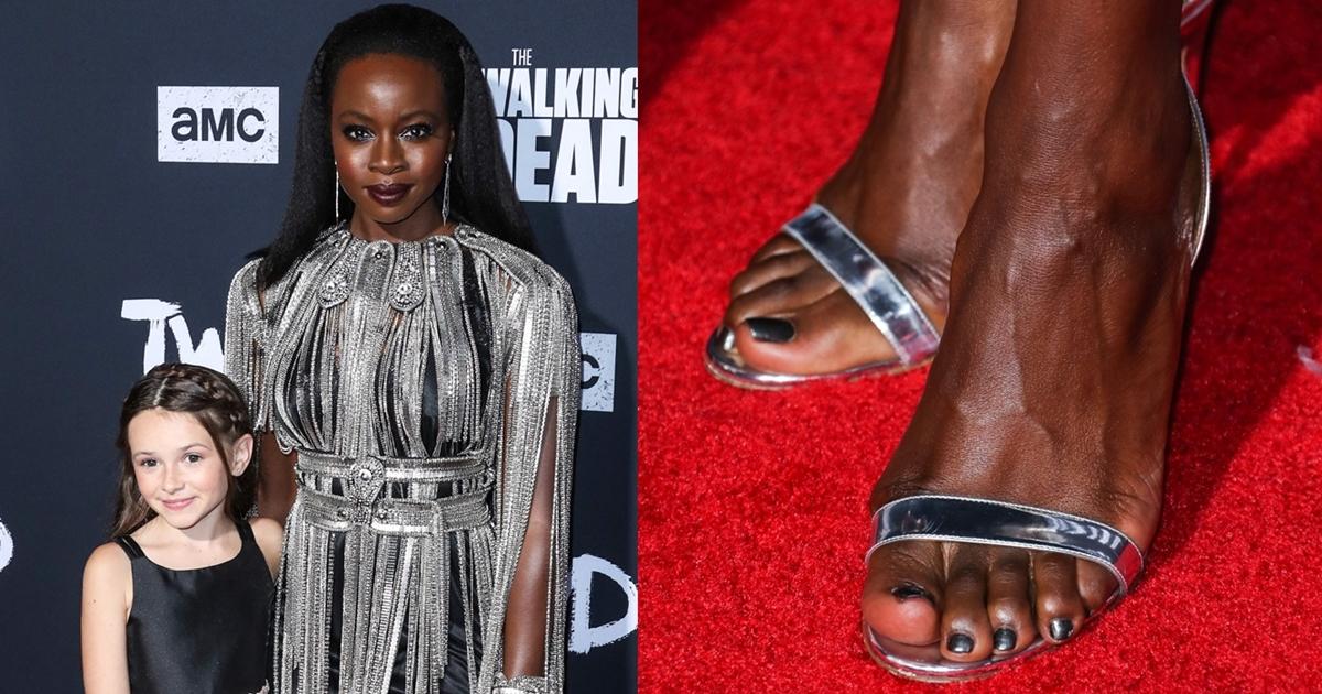Danai Gurira Premieres Walking Dead Season 10 in So Nude