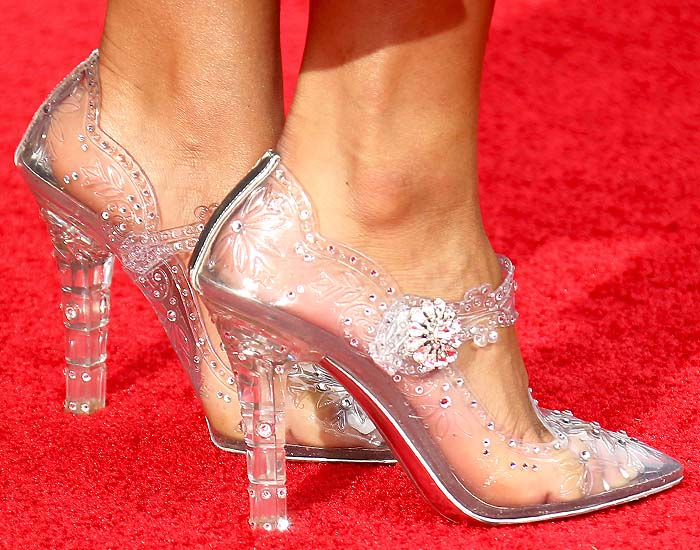 Dolce & Gabbana 'Bette' Cinderella mary janes on Tinashe