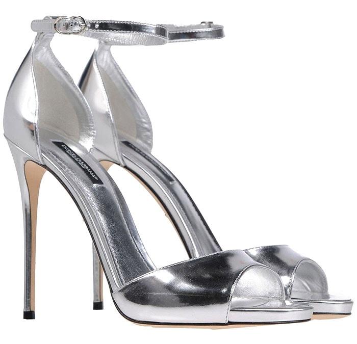 Silver Dolce & Gabbana sandals
