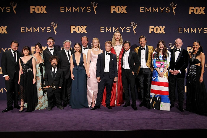 Game of Thrones cast Emmy winner for Outstanding Drama Series