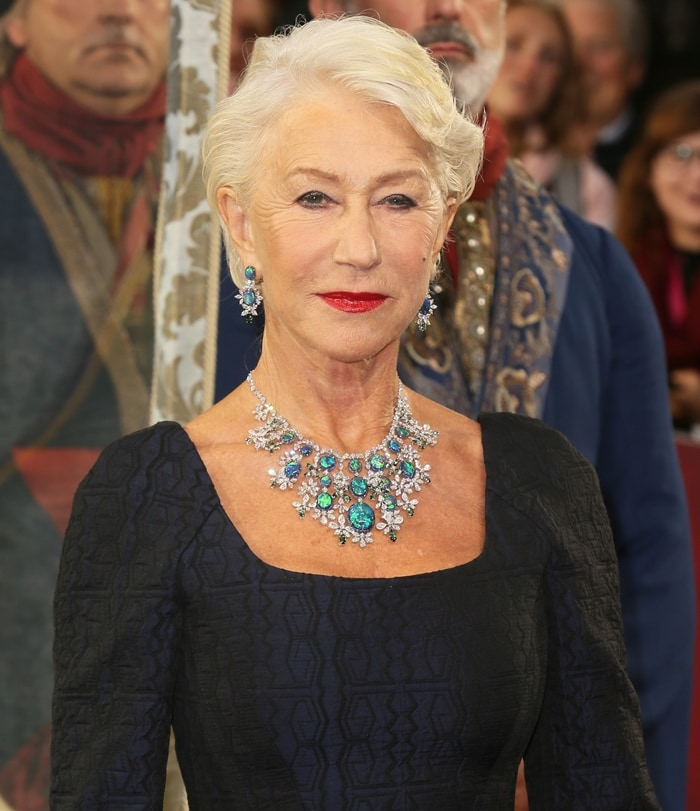 Helen Mirren sparkled in Chopard at the premiere of her new HBO series
