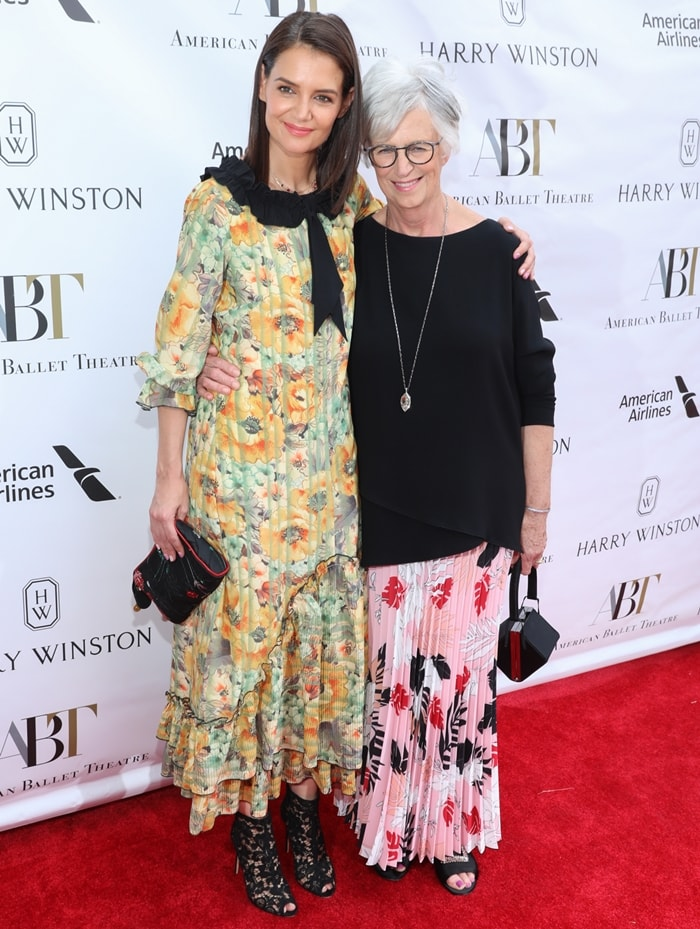 Katie Holmes was joined by her mother Kathleen Stothers-Holmes at the American Ballet Theatre 2019 Spring Gala