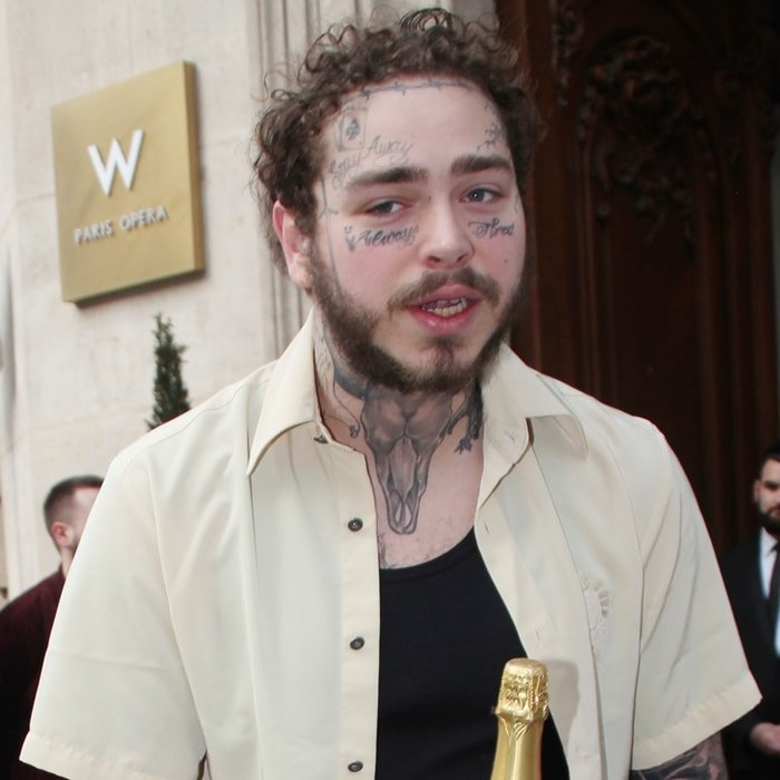 Post Malone Tattoo Ideas: Neck Tattoos: 14 Celebrity Design Ideas For Men And Women
