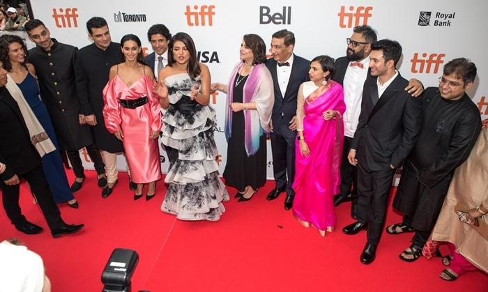 Ishaan Chaudhary, Sid Roy Kapur, Farhan Akhtar, Priyanka Chopra, Aditi Chaudhary, Niren Chaudhary, Shonali Bose, Rohit Suresh Saraf, and Manas Mittal