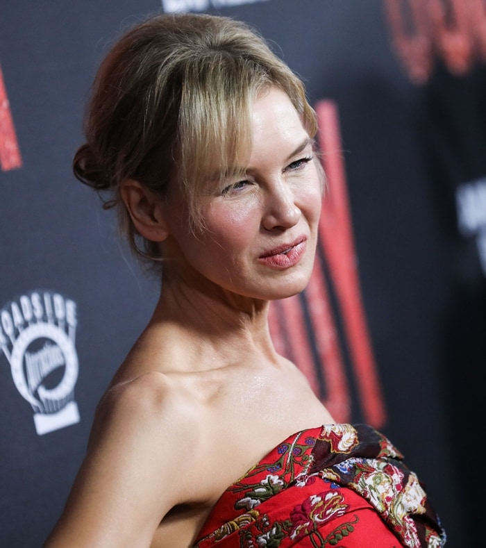 Renée Zellweger is never going to change her hairstyle