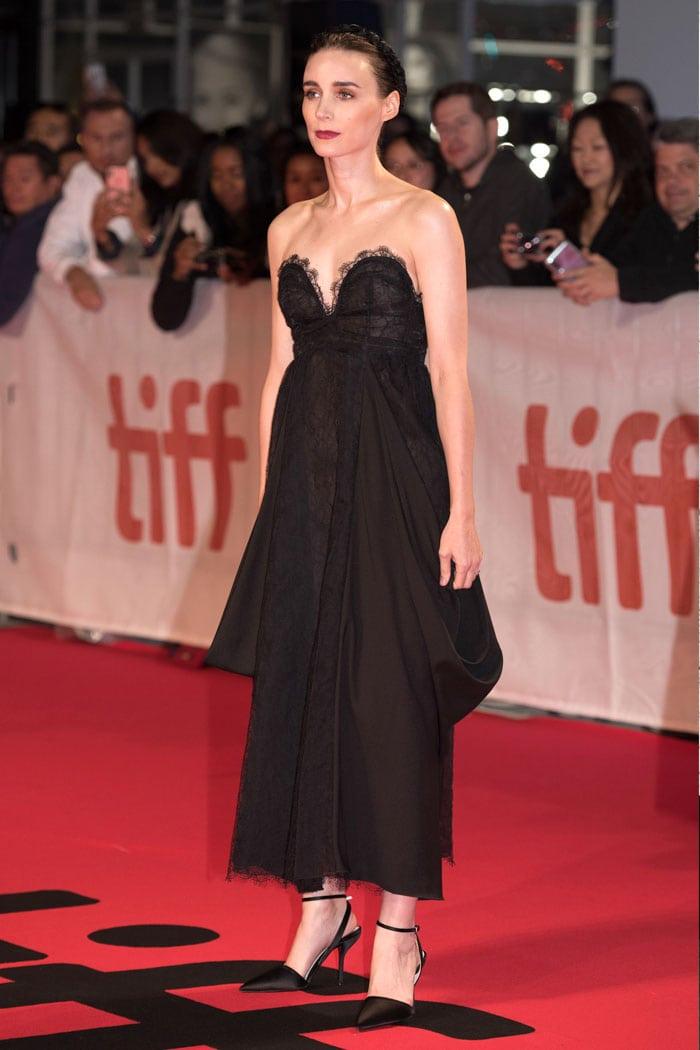 Rooney Mara in Hiraeth at the 2019 Toronto International Film Festival