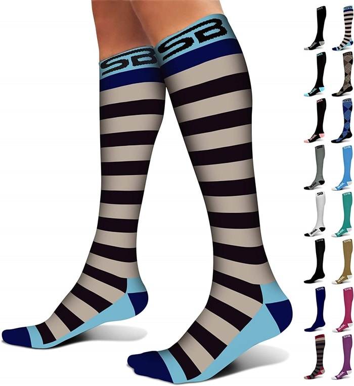 SB SOX Compression Socks 20-30mmHg
