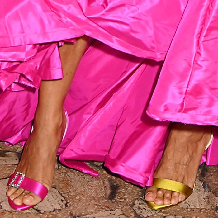 Sarah Jessica Parker's feet are shoe size 7 (US)