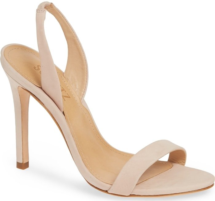 The perfect nude dress sandals to wear to a party
