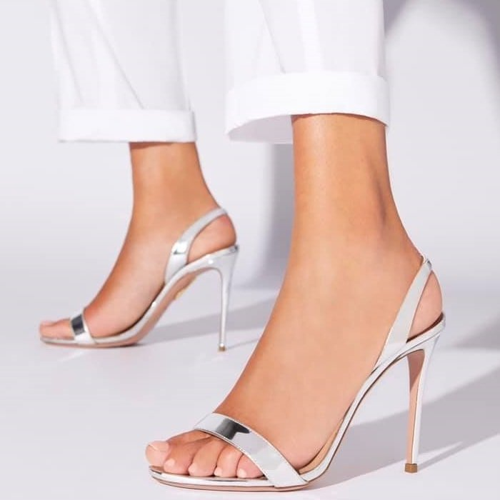 Inspired by '90s minimalist, these slingbacks are a regal essential