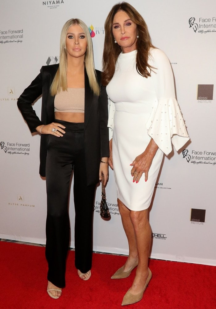 """Caitlyn Jenner and Sophia Hutchins attended the Face Forward International 10th Annual Gala """"Highlands To The Hills"""""""