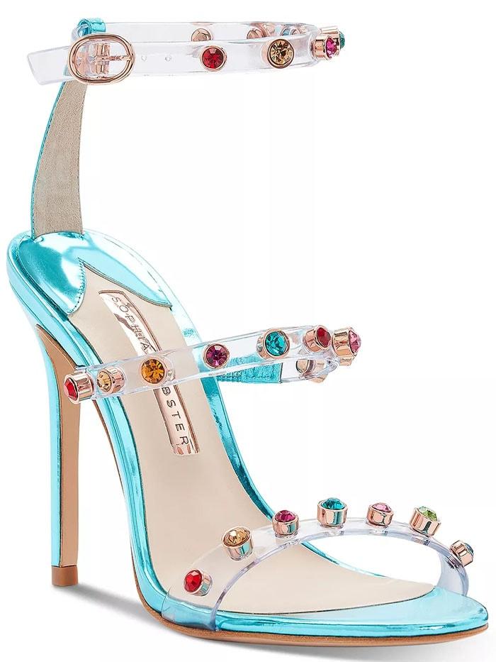 Sophia Webster Rosalind Gem sandals in Turquoise