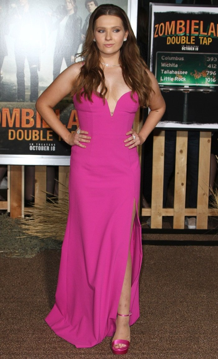 Abigail Breslin at the premiere of Zombieland: Double Tap