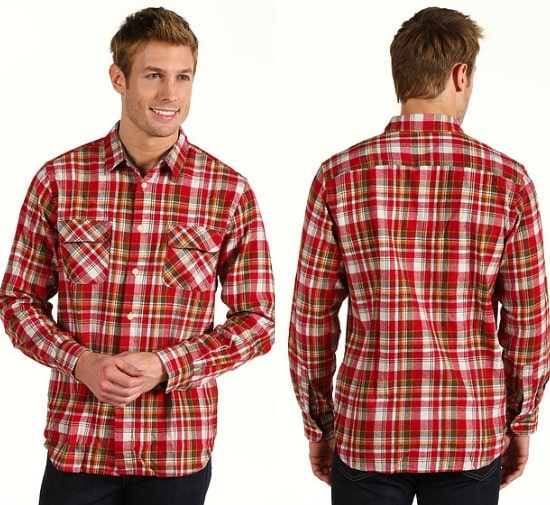 Dockers Classic Fit Casual Flannel Shirt