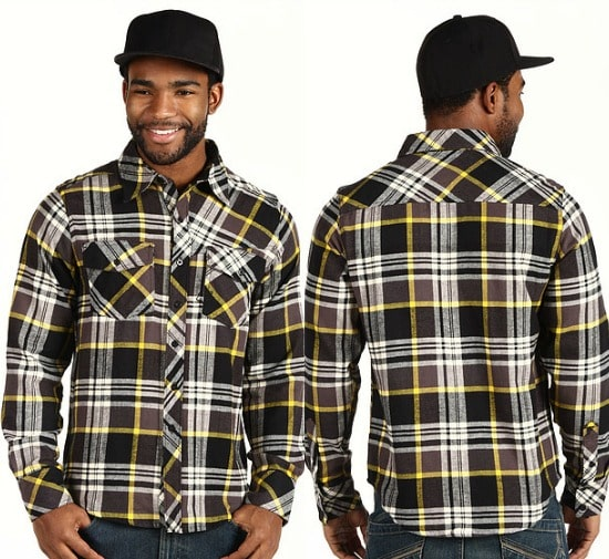 Fox Decker L/S Flannel