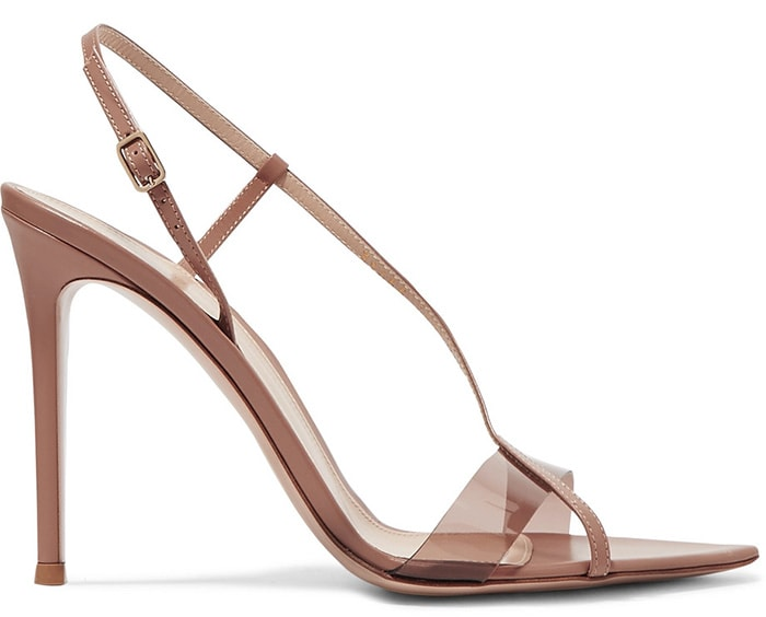 Gianvito Rossi Leather and PVC Sandals
