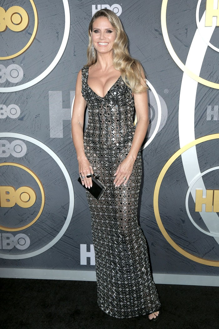 Heidi Klum at HBO's Post-Emmy Awards Reception at The Plaza at the Pacific Design Center in Los Angeles