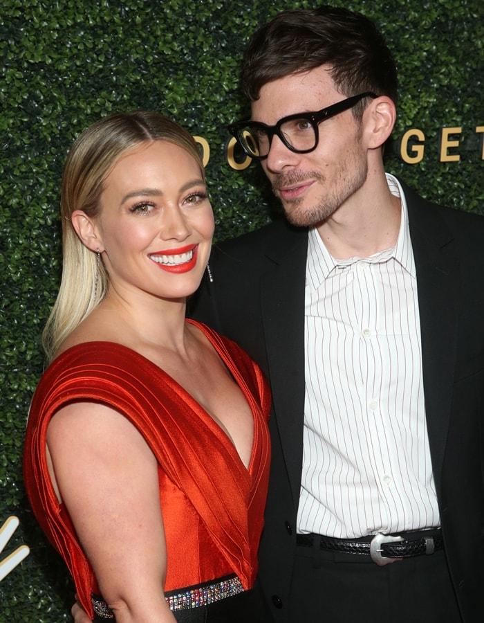 Hillary Duff and Matthew Koma got engaged on May 1, 2019