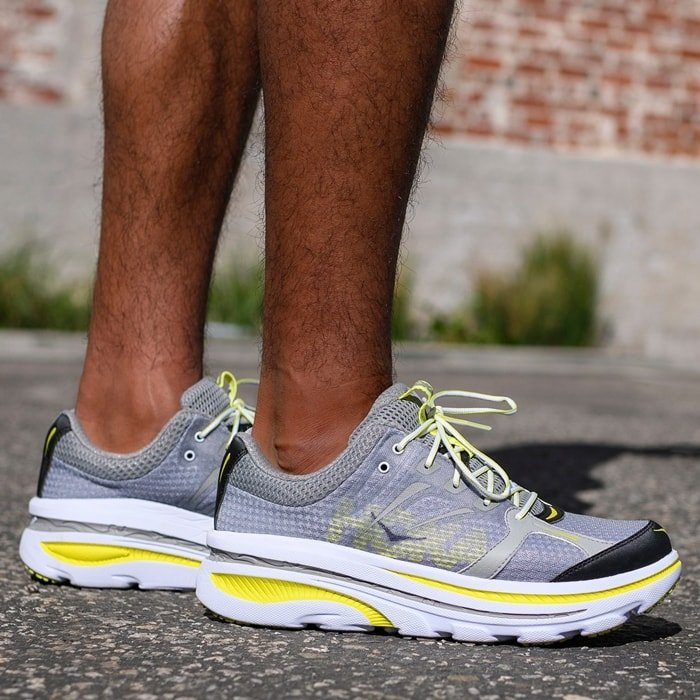 Break records and keep on running in the Hoka One One Bondi running shoes