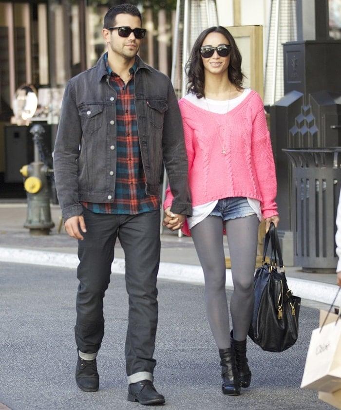 Jesse Metcalfe and his longtime girlfriend Cara Santana