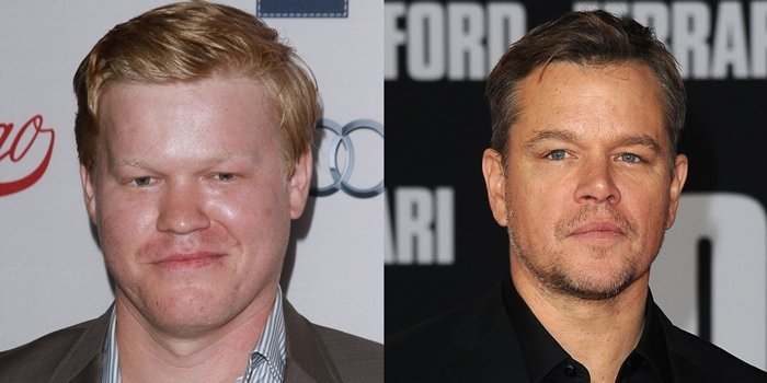 Jesse Plemons is known as Matt Damon's lookalike