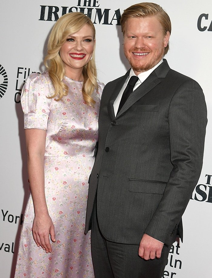 Kirsten Dunst and Jesse Plemons met on the set of Fargo in 2016