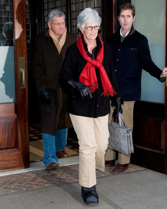 Katie Holmes' parents Kathleen A. Stothers-Holmes and Martin Joseph Holmes, Sr.