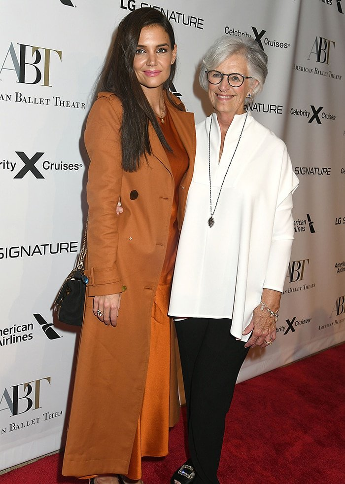 Katie Holmes brings her mom Kathleen A. Stothers-Holmes to the American Ballet Theater 2019 Fall Gala