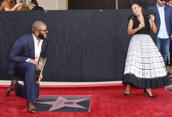 Tyler Perry was honored with the 2,675th star on the walk of fame