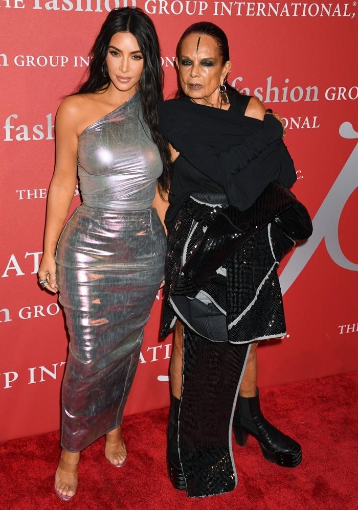 Kim Kardashian and Rick Owens' 75-year-old wife Michèle Lamy