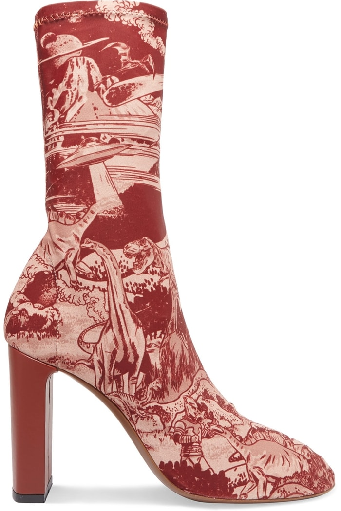 Neous' 'Laeila' sock boots will ensure your style really stands out - they're printed with dinosaurs and spaceships
