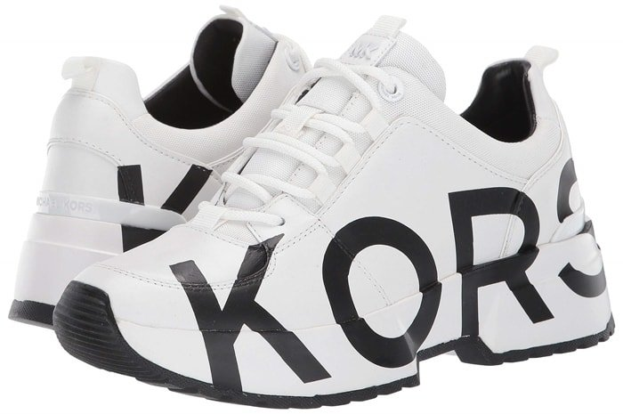 Take to the stars in these chic Cosmo sneakers with contrast panels for a cool, color blocked design
