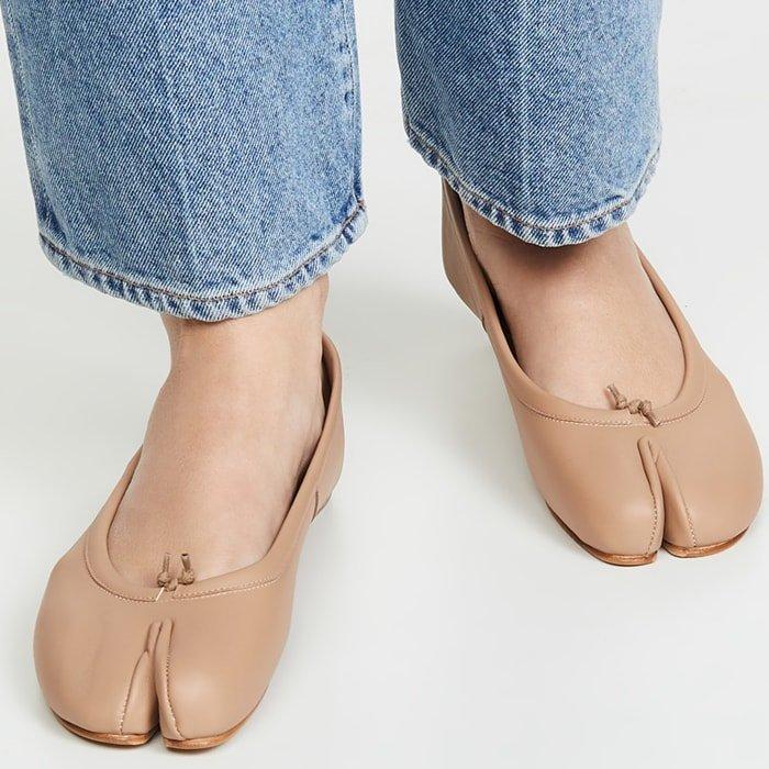 Maison Margiela's ugly camel toe flats