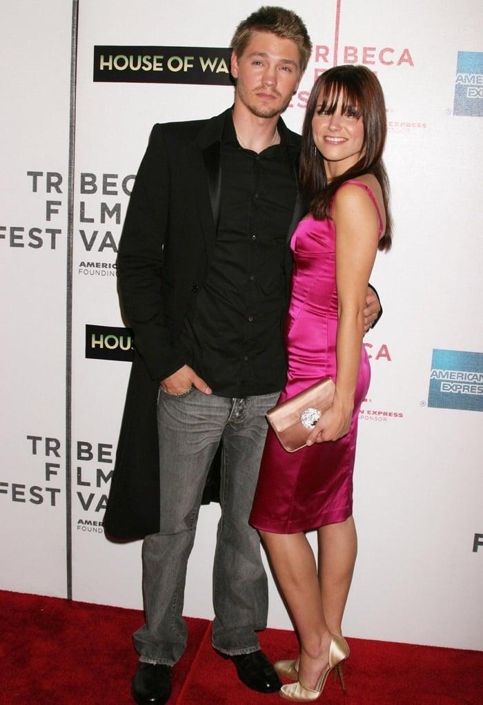 Chad Michael Murray and wife Sophia Bush