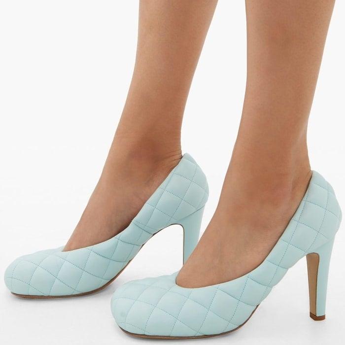 Light Blue Minnie Mouse House Shoes