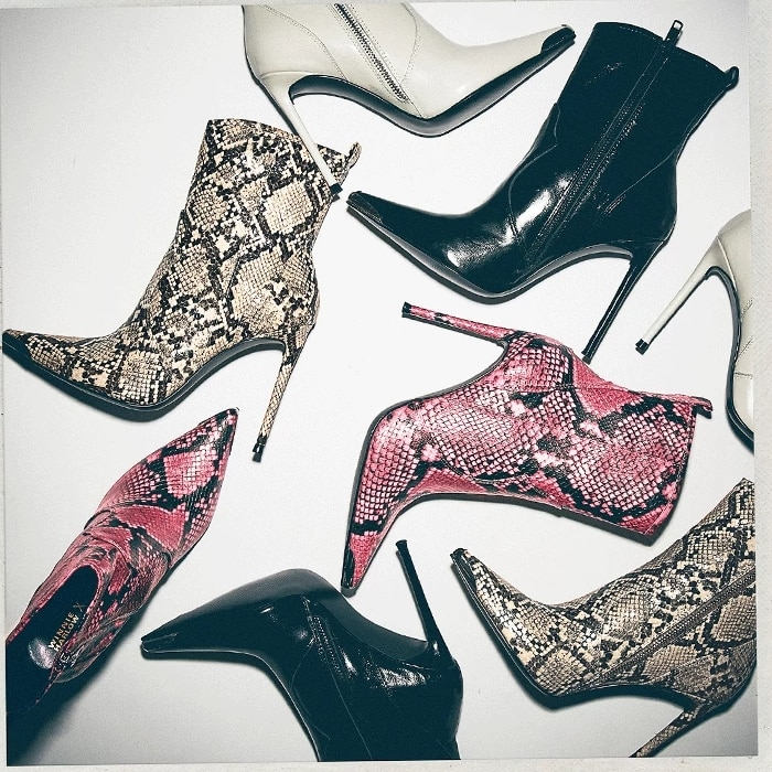 A little bit country and oh-so-sexy, TINA, named after Winnie's younger sister, translates Western aesthetics into a standout stilettoed boot
