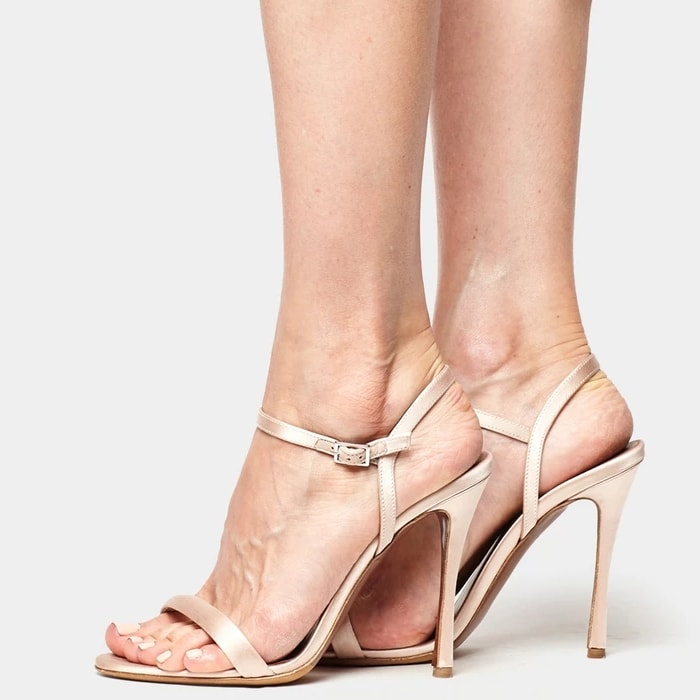 Tabitha Simmons Eve Sandals Champagne