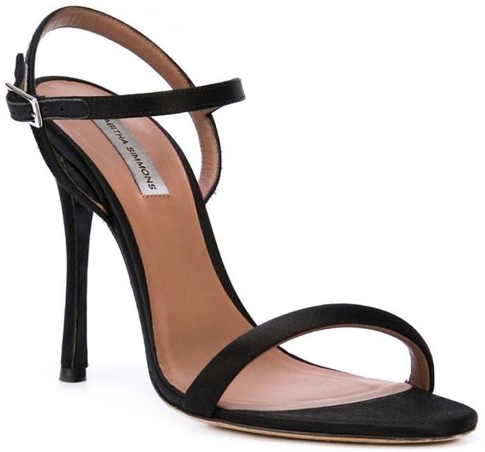 Tabitha Simmons Eve Sandals Black