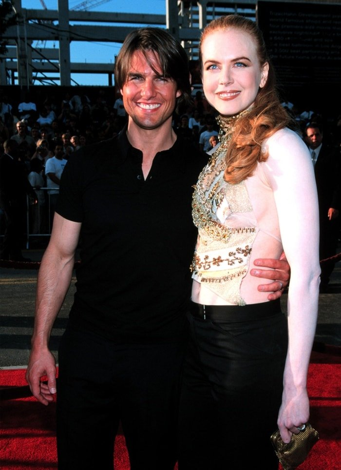 """Tom Cruise and Nicole Kidman during """"Mission: Impossible 2"""" Premiere"""