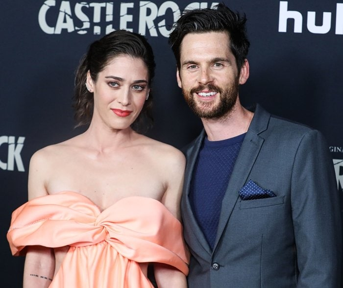 Tom Riley met his wife Lizzy Caplan while she was filming Allied in London