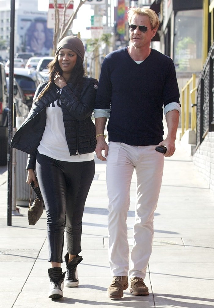 Tyra Banks and new boyfriend Erik Asla